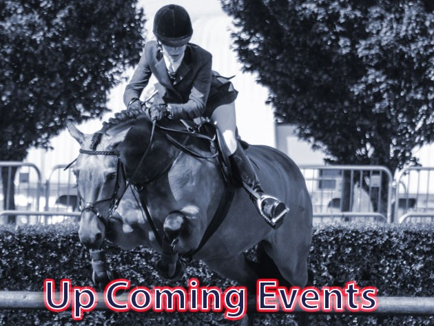 See us at up and coming events