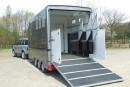Carriage Treka with back doors open