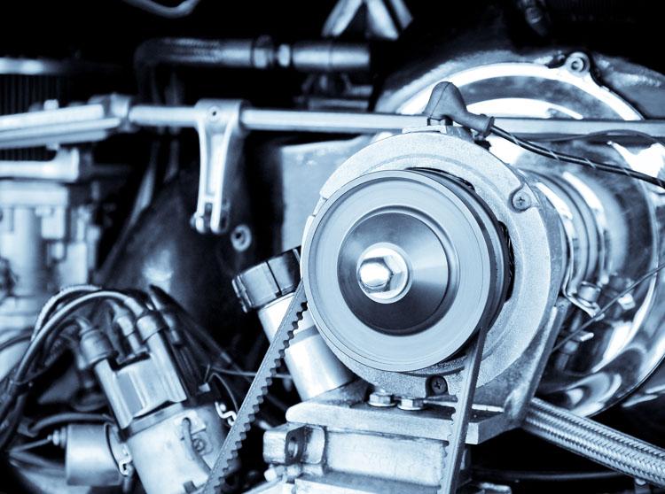 Engine of Van