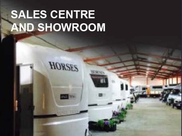 sales center and showroom